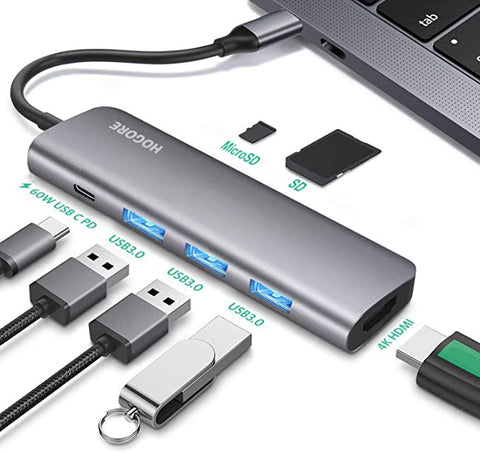 HOGORE Multi port Charging Compatible ChromeBook