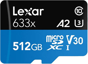 Lexar High Performance 512GB microSDXC UHS I