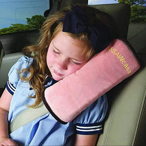 SSAWcasa Seatbelt Children Headrest Shoulder