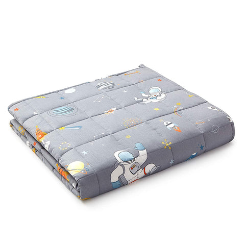 Image of YnM Kids Weighted Blanket Astronaut