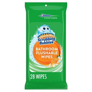 Scrubbing Bubbles Antibacterial Bathroom Flushable