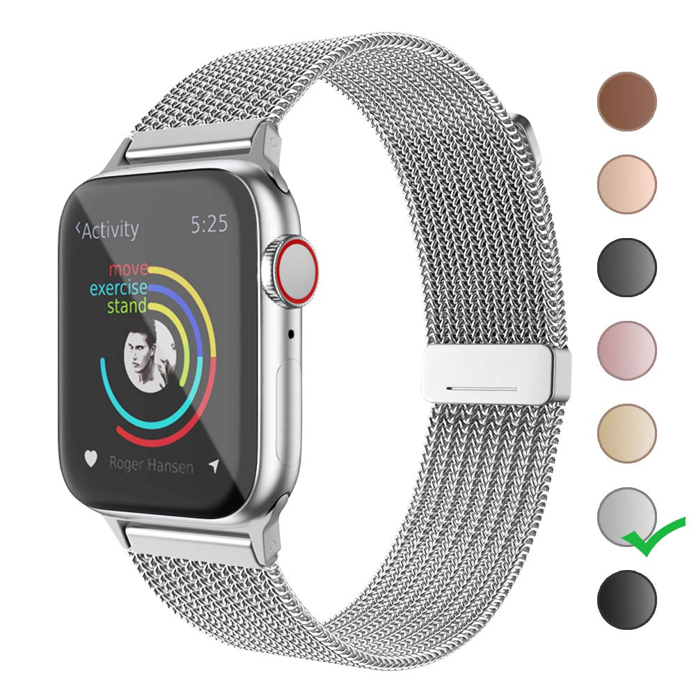 Cocos Compatible Apple Stainless iWatch