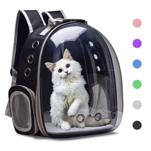Henkelion Cat Backpack Carrying Knapsack