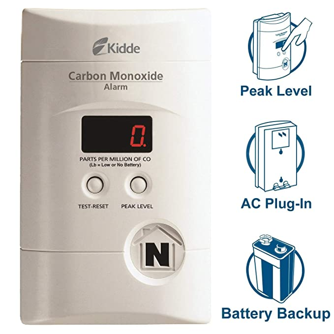 Nighthawk Operated Monoxide Digital KN COPP 3