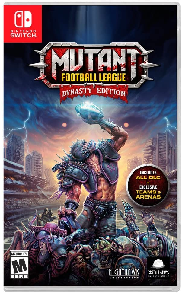 Mutant Football League Dynasty Nintendo Switch