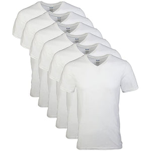 Gildan Mens V Neck T Shirts Multipacks