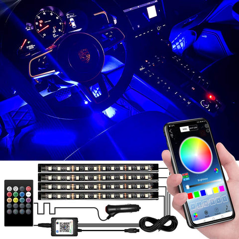 Upgraded Multicoloured Interior Waterproof Multi Mode