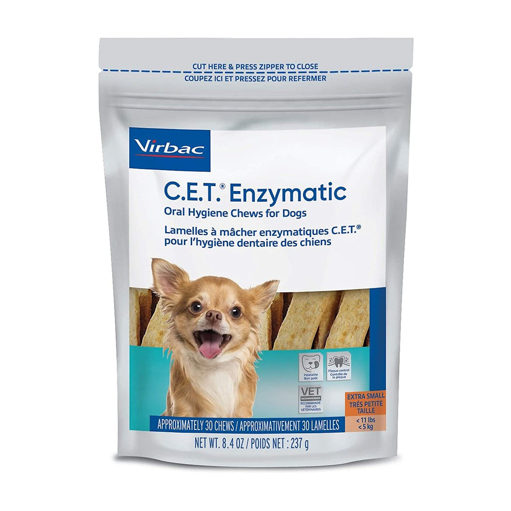 Virbac Enzymatic Hygiene Chews Small