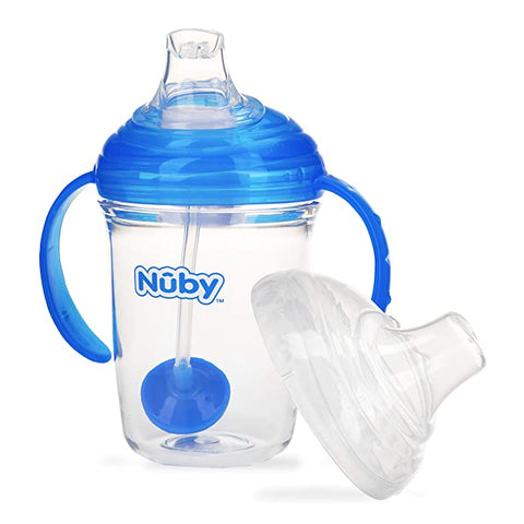 Image of Nuby Weighted Tritan Hygienic Trainer
