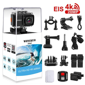 WONGKUO Anti shake Waterproof 170°Wide Angle Accessories