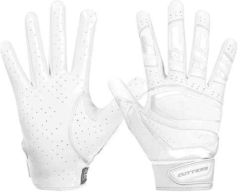 Cutters Football Gloves Receiver Youth
