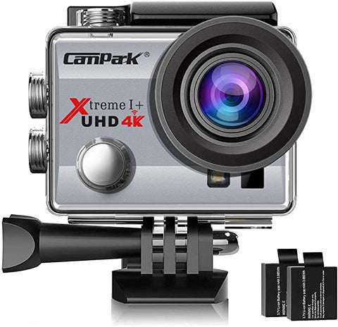 Campark ACT74 Waterproof Accessories Rechargeable
