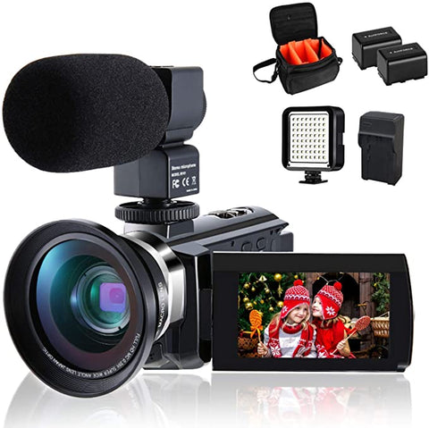 Camcorder CofunKool Vlogging External Microphone