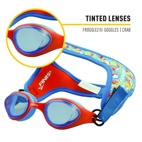 Image of FINIS Frogglez Goggles Crab Tint