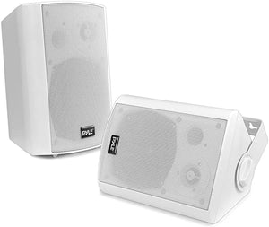 Outdoor Wall Mount Patio Stereo Speaker
