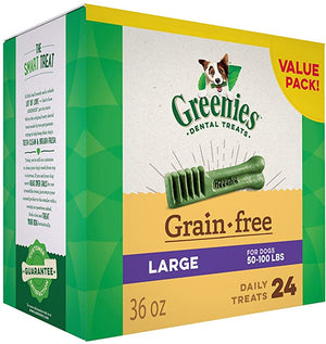 GREENIES Grain Natural Dental Treats