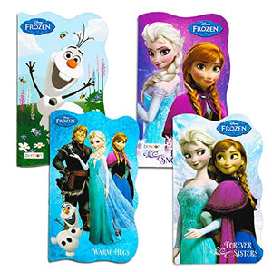Disney Frozen Board Books Shaped