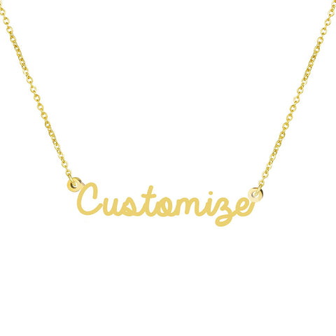 Awegift Personalized Necklace Bridesmaid Customize