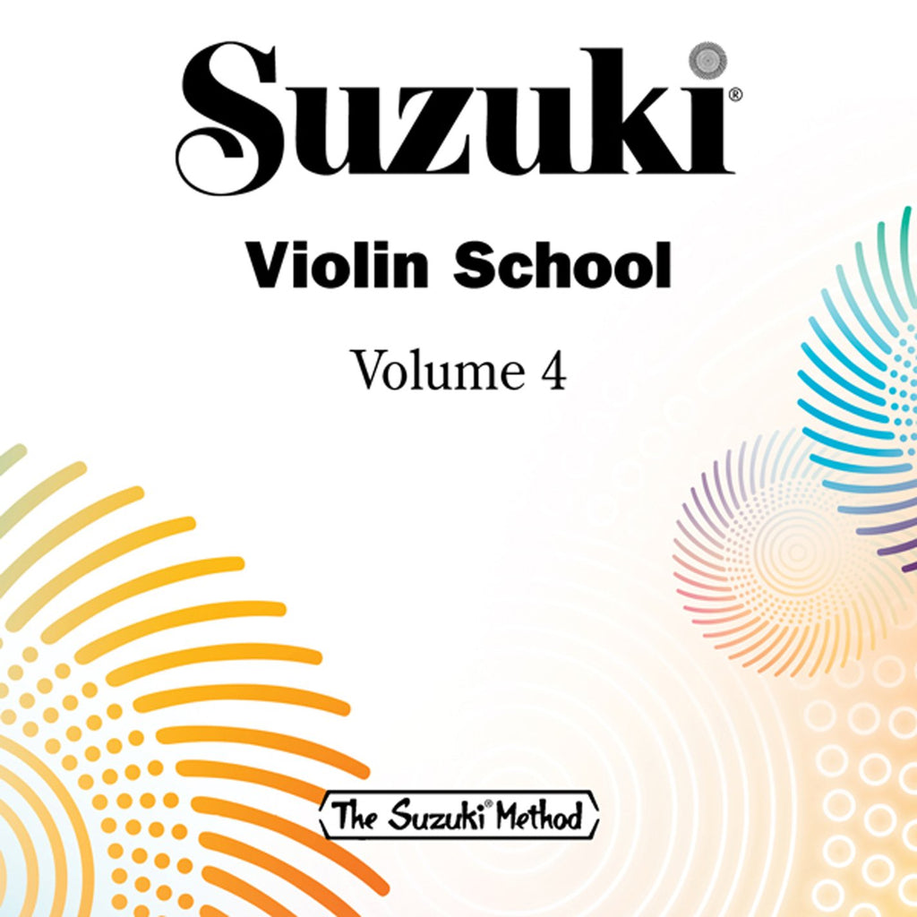 Suzuki Violin School Vol 4