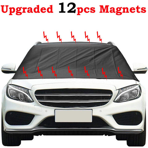 Image of Magnetic Windshield Cover Powerful Magnets