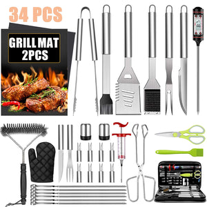 Accessories Stainless Grilling Thermometer Backyard