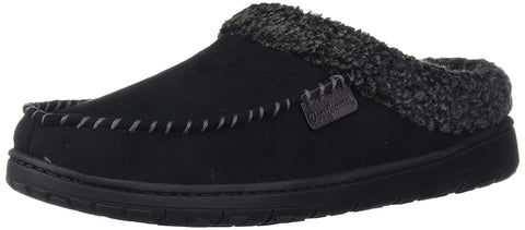 Dearfoams Microfiber Whipstitch Slipper Medium
