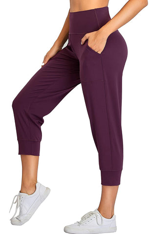Oalka Joggers Pockets Running Sweatpants