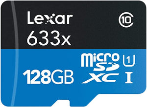 Lexar High Performance 128GB microSDXC UHS I