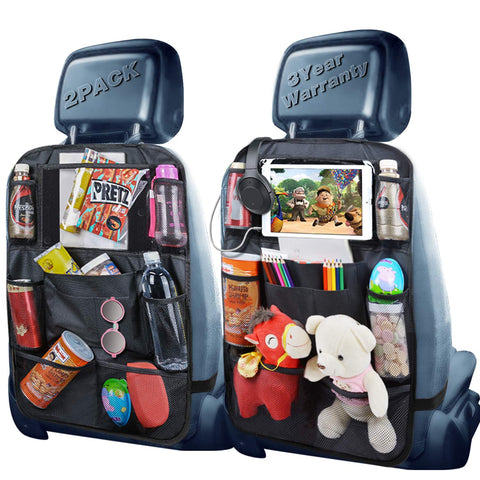 Image of Backseat Organizer Headphone Snacks Accessories