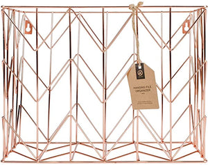 Brands Hanging Organizer Metal Copper
