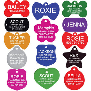 GoTags Pet ID Personalized Badge