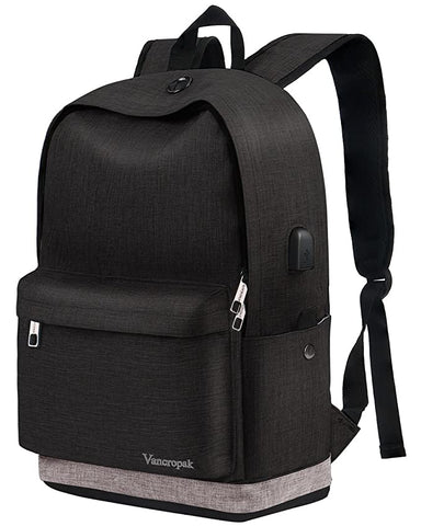 Backpack College Student Charging Rucksack