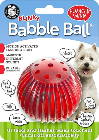 Image of Pet Qwerks Blinky Babble Interactive