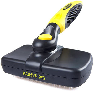 Pet Grooming Brush Cleaning Shedding