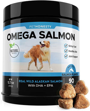 Salmon Oil Dogs All Natural Allergies