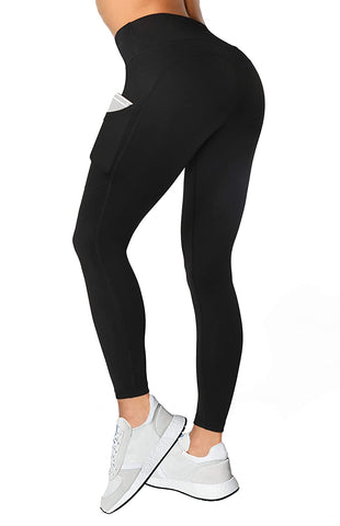 Pockets Workout Leggings Running Control