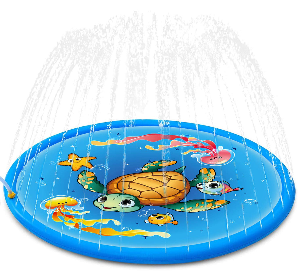 Inflatable Sprinkle Toddlers Outdoor Swimming