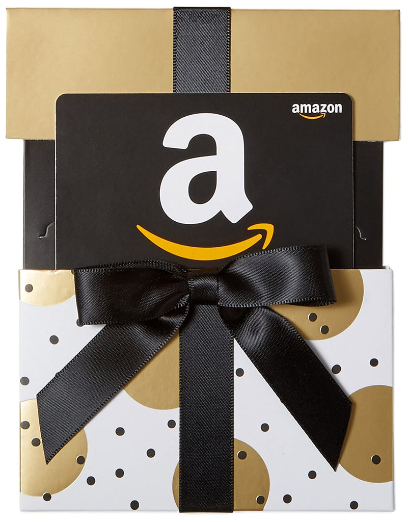 Amazon com Gift Card Gold Reveal