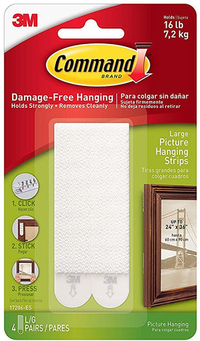 Command Picture Hanging Strips 17206 ES