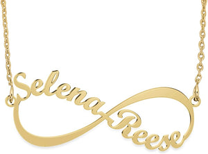 Sterling Infinity Personalized Nameplate Jewelry