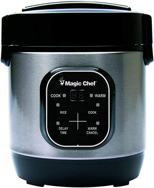 Magic Chef MCSRC03ST Cooker Stainless