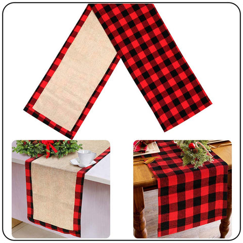 AerWo Reversible Decoration Lumberjack Decorations