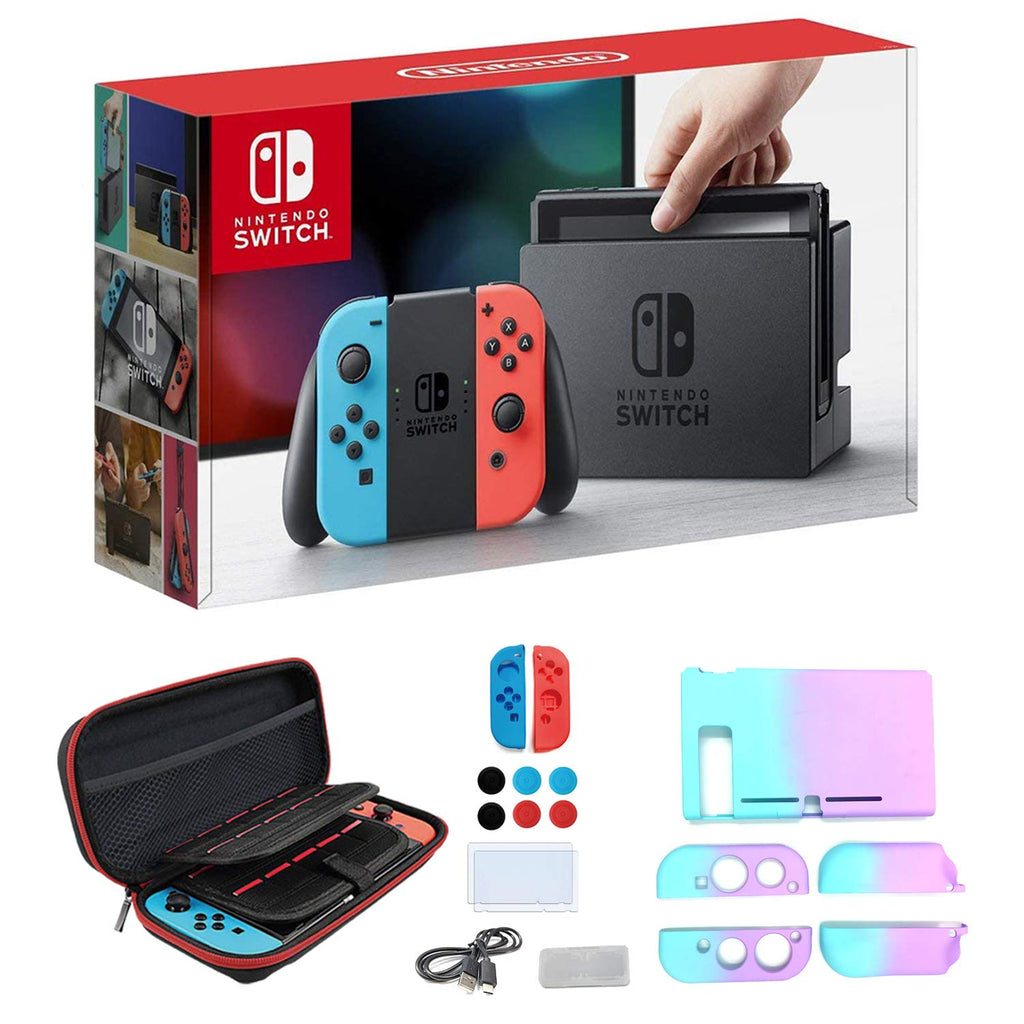 Newest Nintendo Switch Neon Blue
