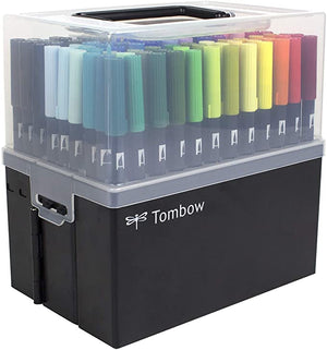 Tombow 108 Piece Complete Collection Portable
