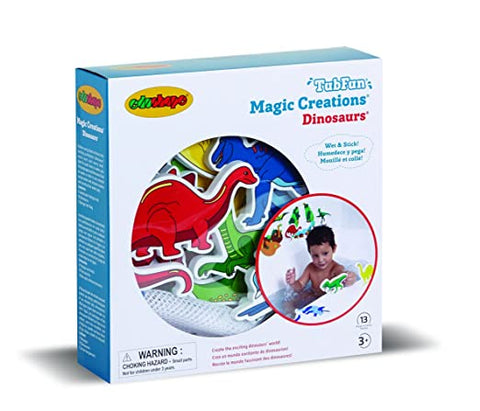 Edushape Magic Creations Bath Dinosaurs