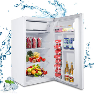 MOOSOO Refrigerator Reversible Adjustable Certificated