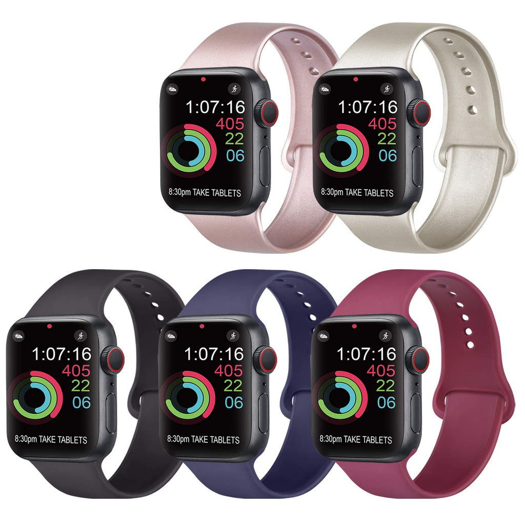 Silicone Bands Compatible iWatch 40mm S