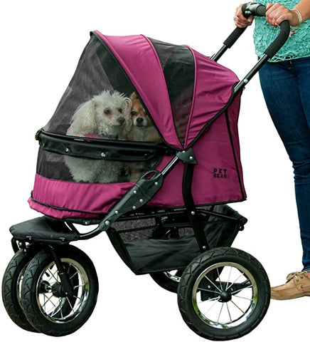 Image of Pet Gear Stroller Zipperless Multiple