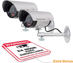 Security Surveillance Realistic Recording Warning