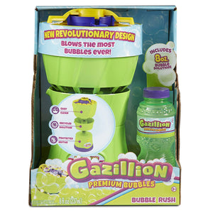 Gazillion Bubble Rush Blower Machine